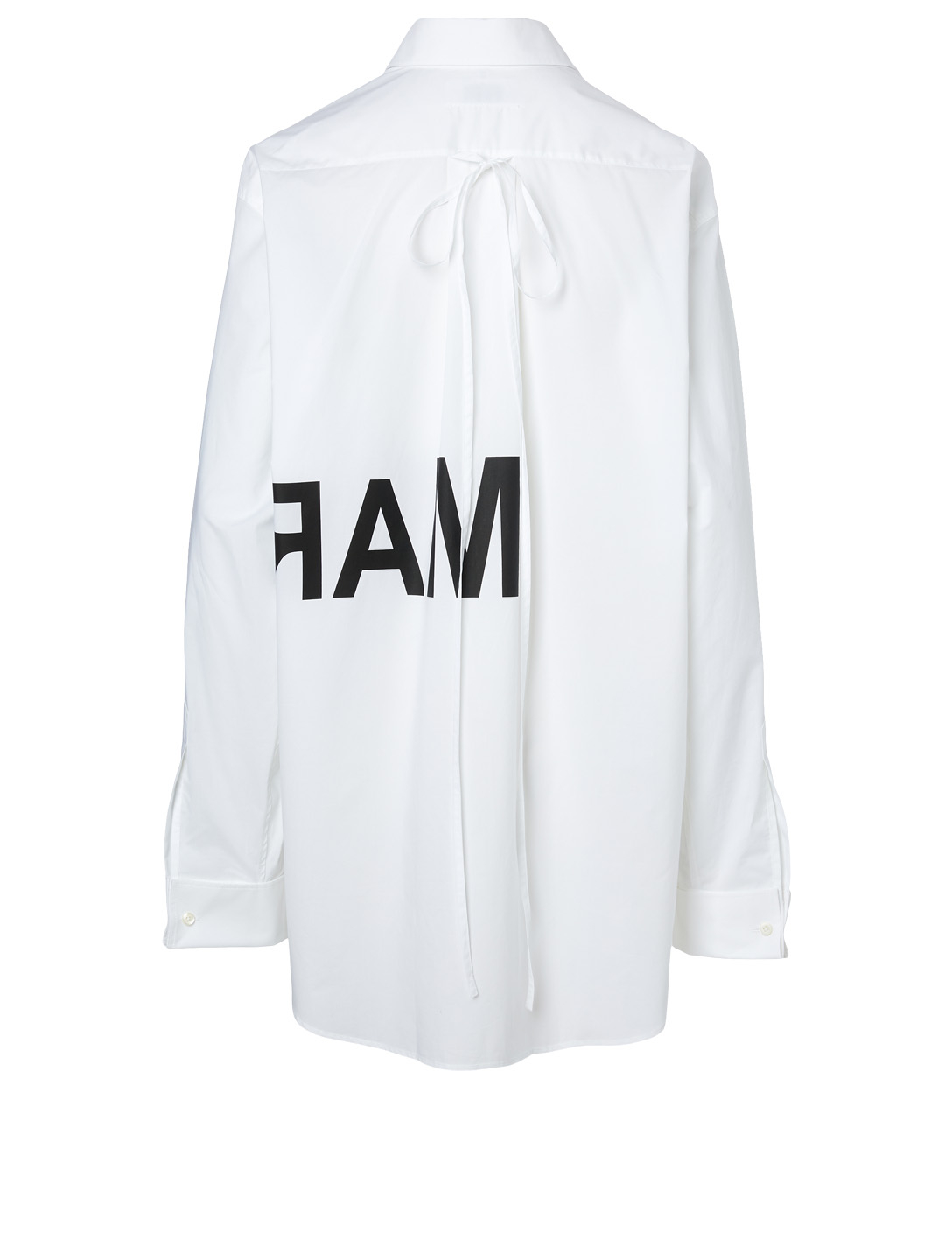 MM6 MAISON MARGIELA Cotton Logo Shirt Women's White