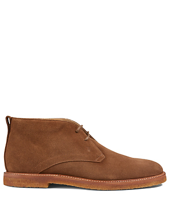 TOD'S Suede Desert Boots Men's Brown