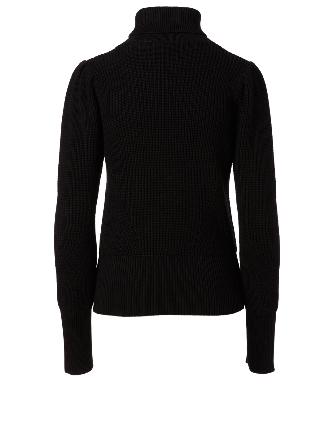FRAME Cotton And Cashmere Turtleneck Sweater Women's Black