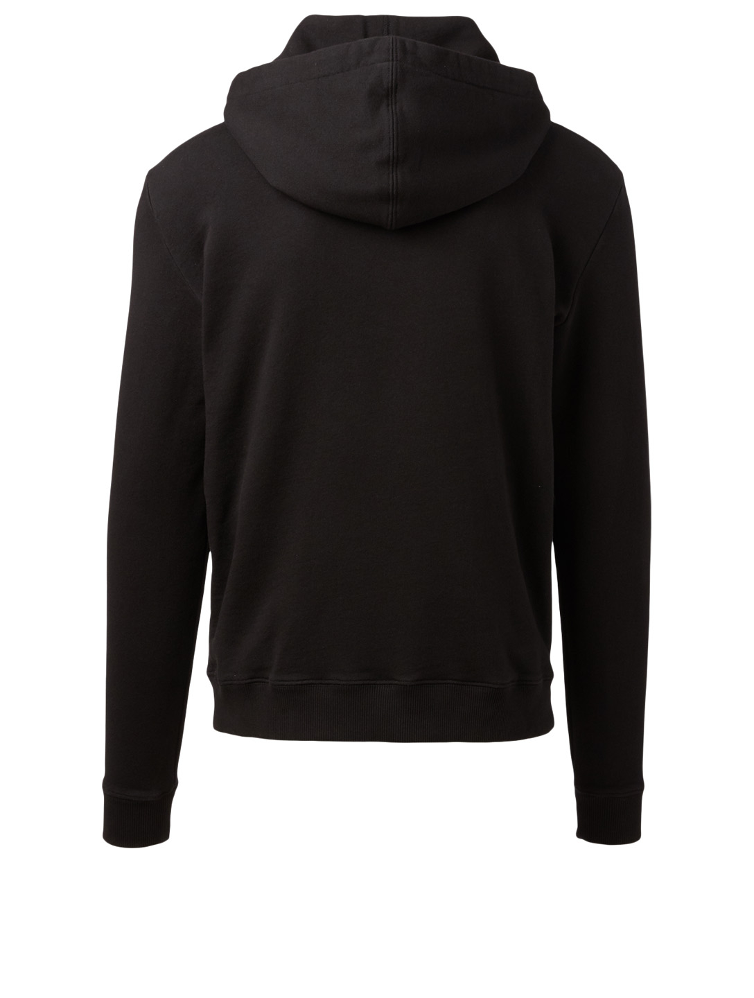 SAINT LAURENT Cotton Logo Hoodie Men's Black