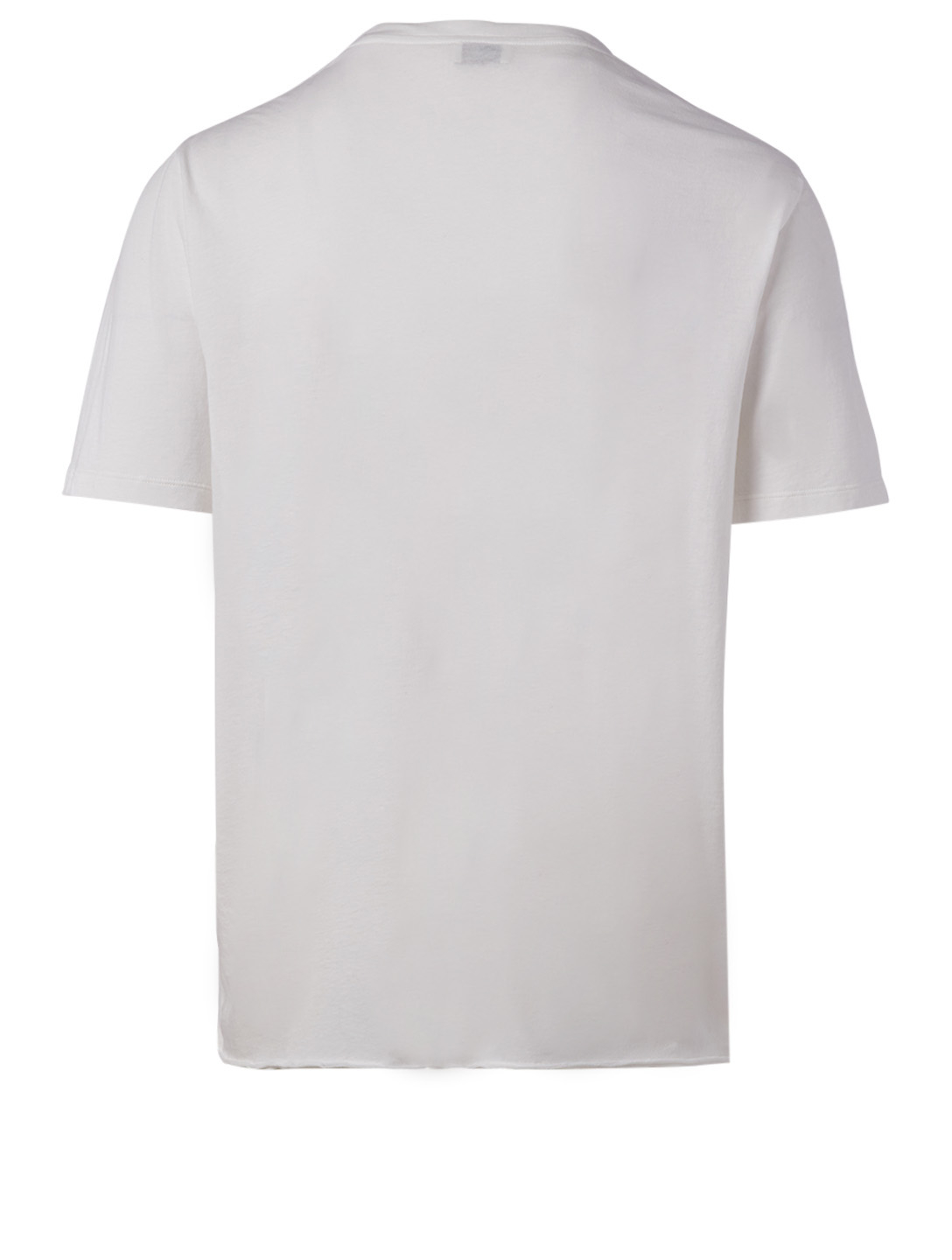 SAINT LAURENT The Smith Cotton T-Shirt Men's White