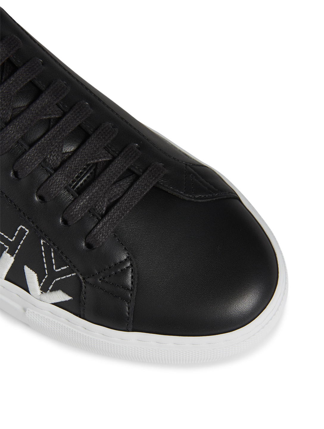GIVENCHY Urban Street Leather Sneakers Men's Black