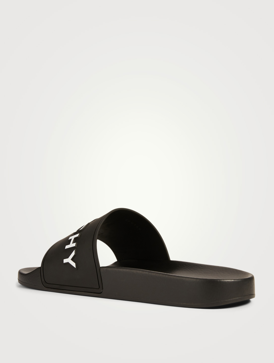 GIVENCHY Logo Slide Sandals Men's Black