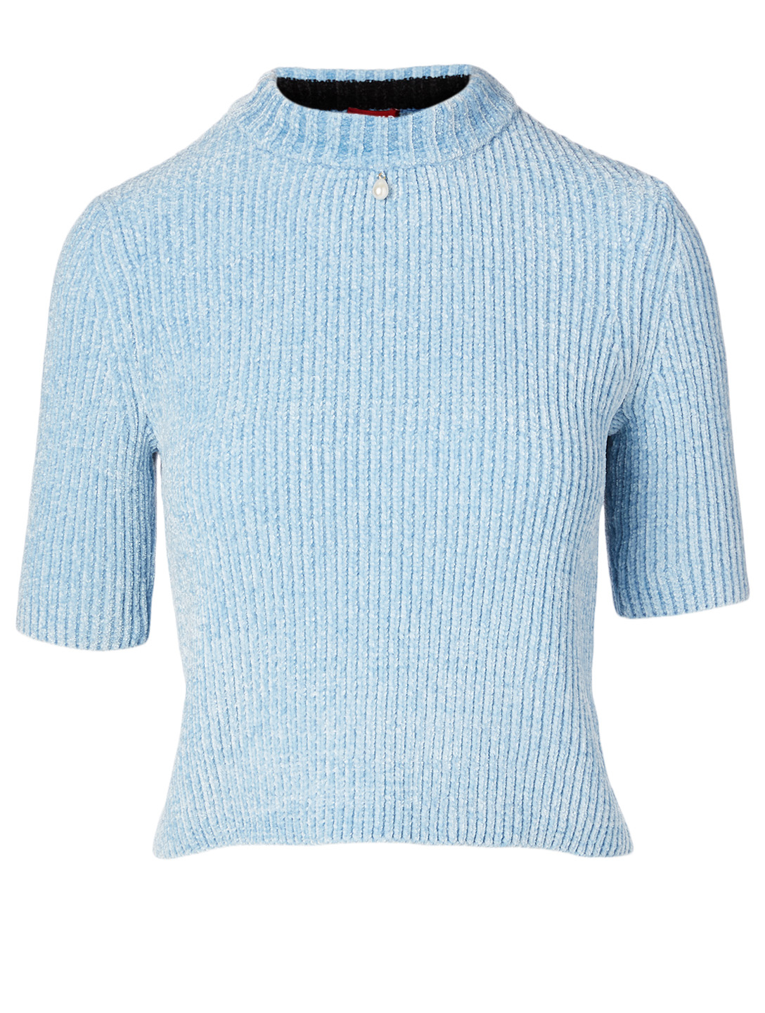 STAUD Moody Chenille Top Women's Blue