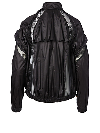 SACAI Lace Blouson Jacket Women's Black