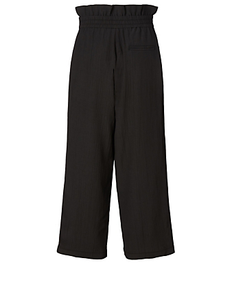 3.1 PHILLIP LIM Cropped Paperbag Pants Women's Black