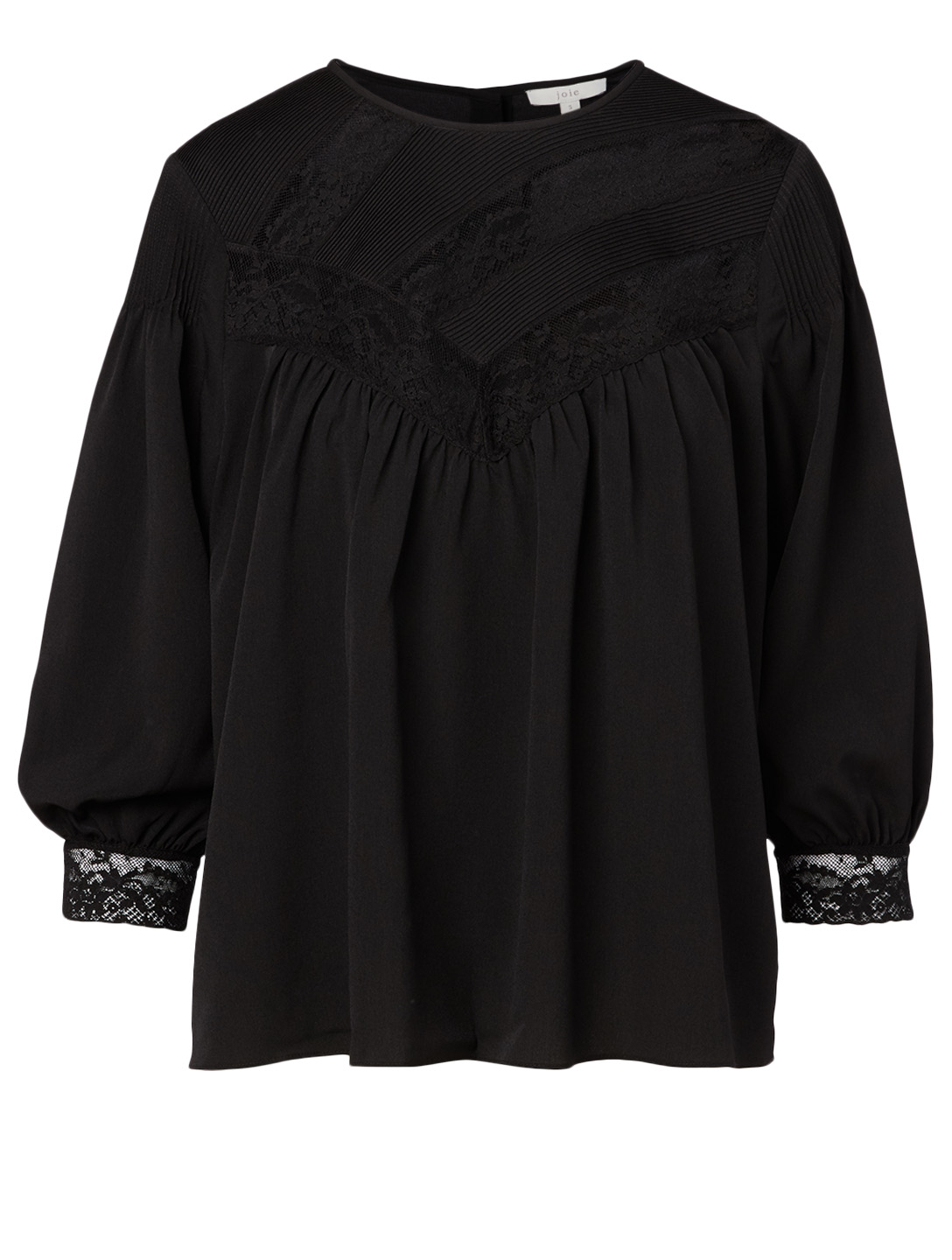 JOIE Margette Lace Top Women's Black