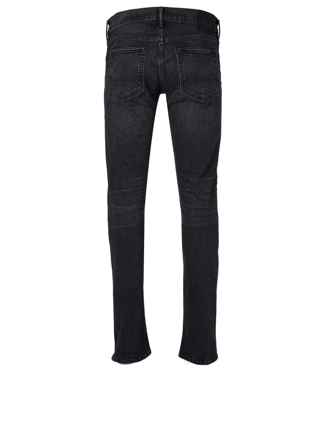 TOM FORD Cotton-Blend Slim-Fit Jeans Men's Black