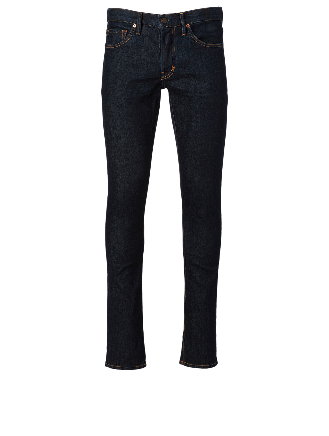 TOM FORD Cotton-Blend Slim-Fit Jeans Men's Blue