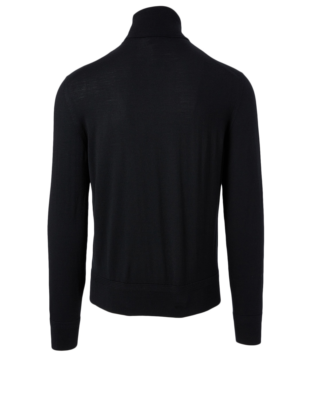 TOM FORD Wool Turtleneck Top Men's Black