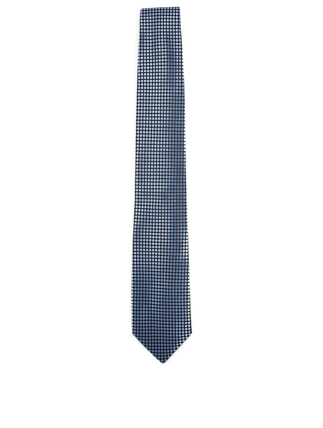 TOM FORD Silk-Blend Tie In Dot Print Men's Blue
