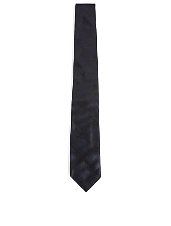 TOM FORD Silk Knit Tie Men's Blue