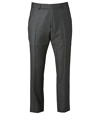 TOM FORD Wool Sharkskin Pants Men's Black