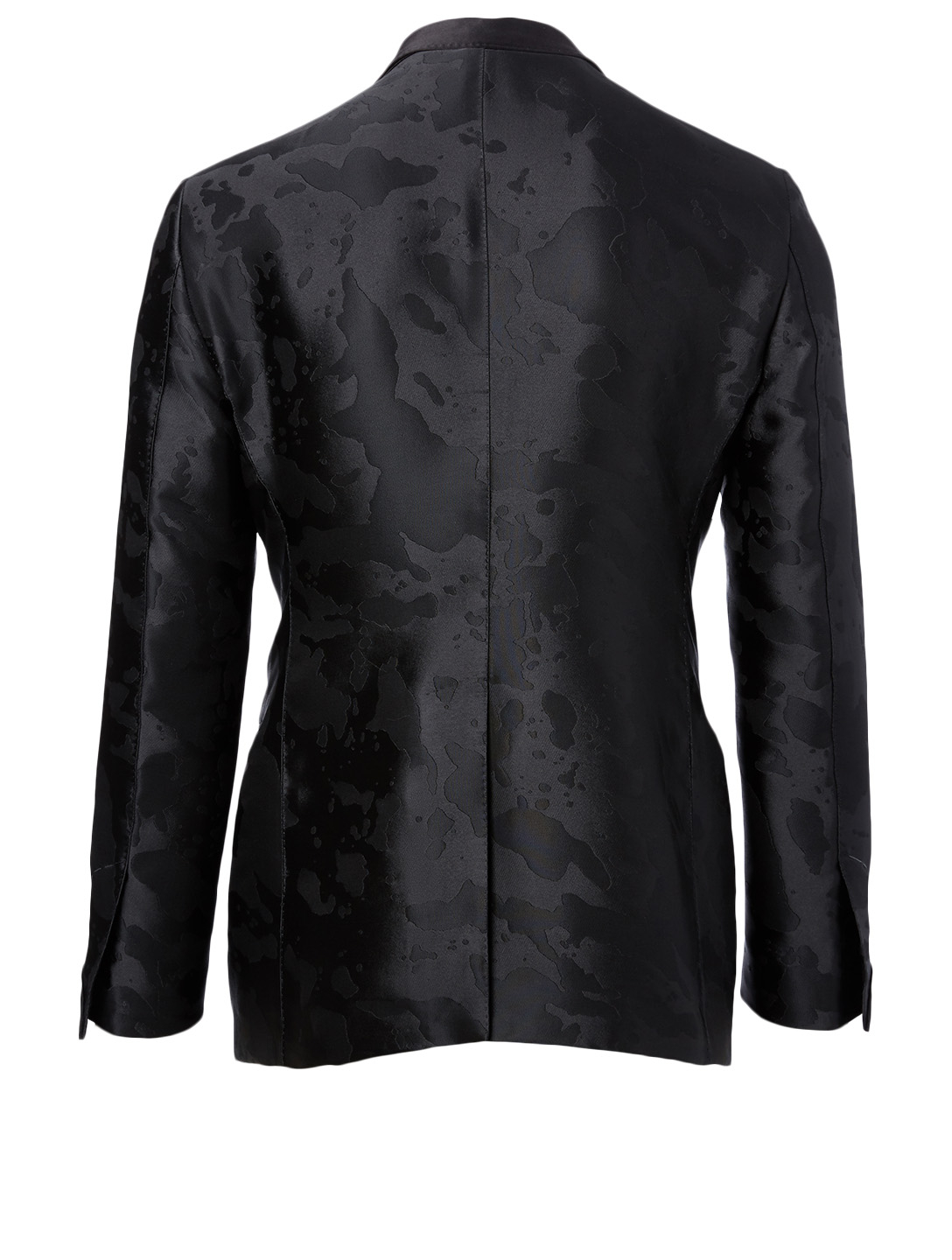 TOM FORD Silk Down Jacket Men's Black