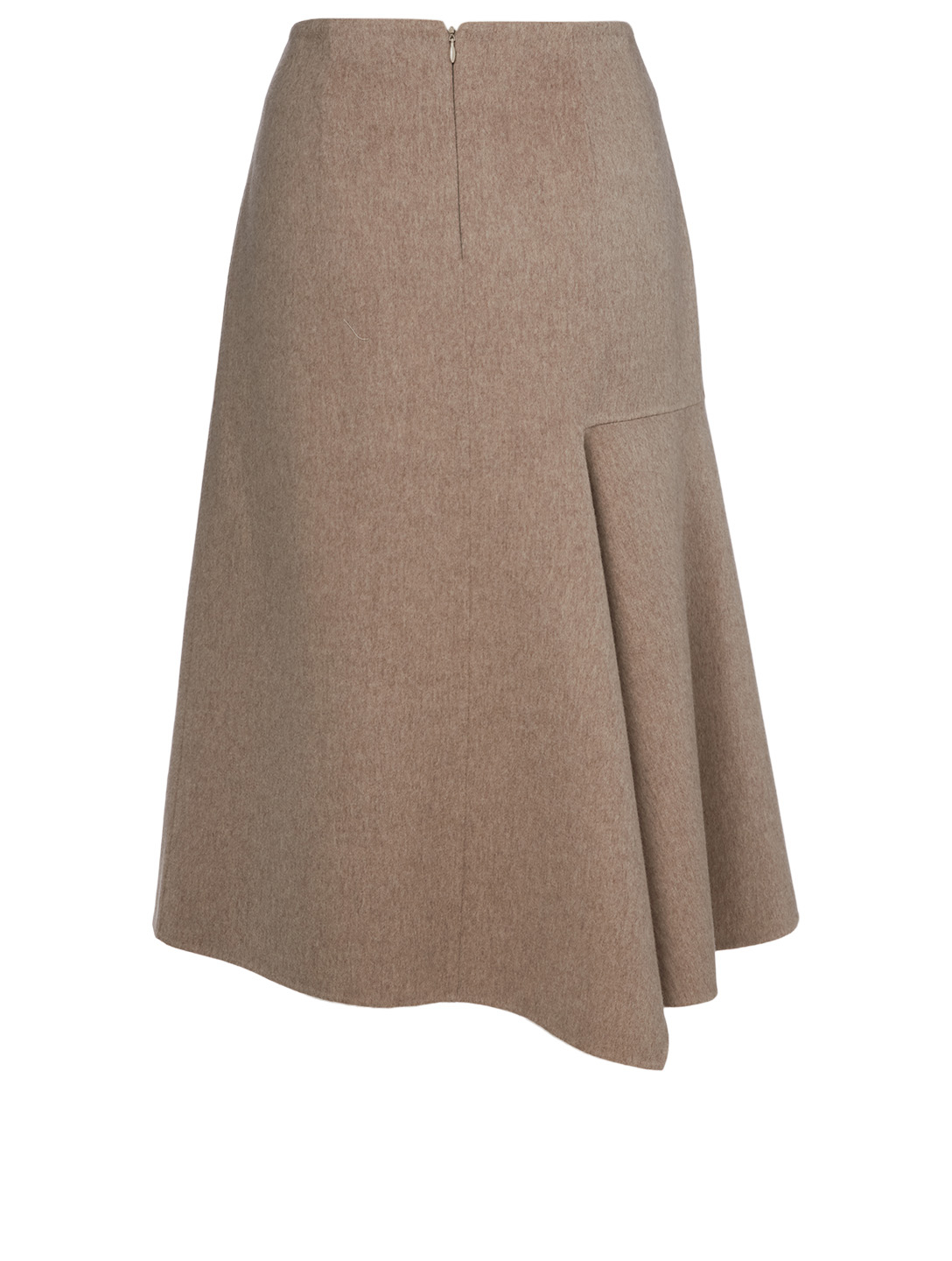 KUHO Wool And Cashmere Asymmetric Skirt Women's Neutral