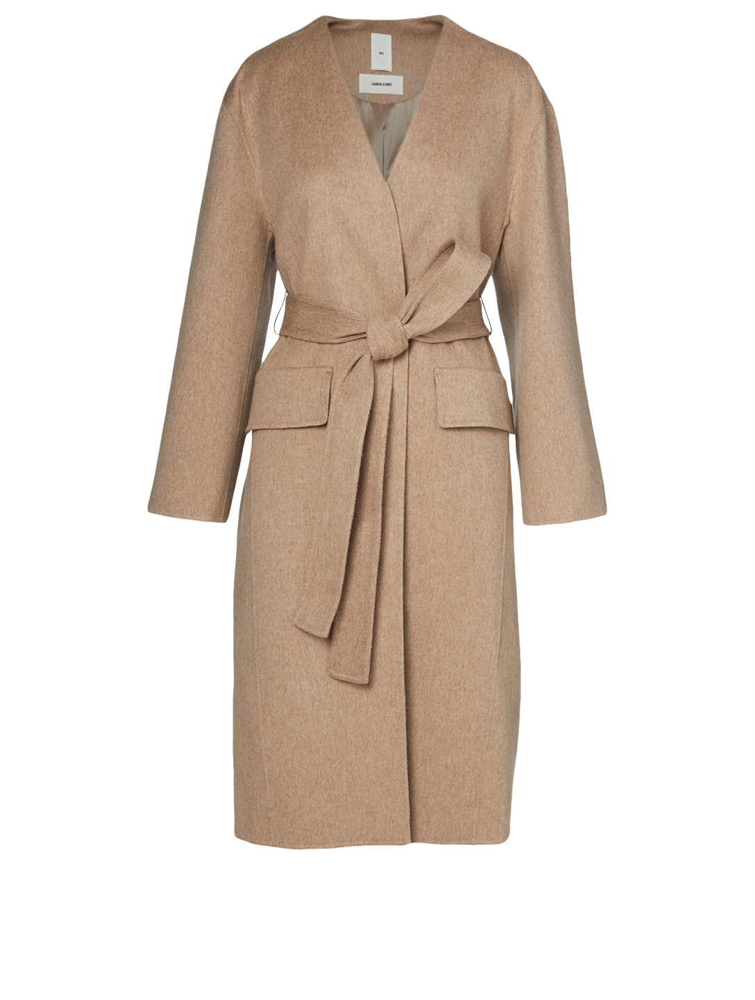 KUHO Wool And Cashmere Layered Coat Women's Neutral