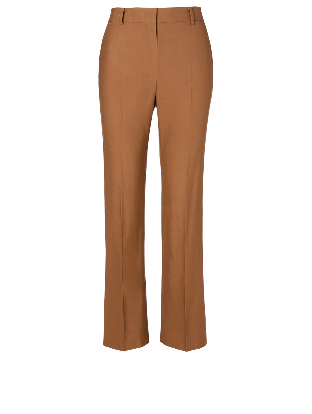 KUHO Wool-Blend Slim Pants Women's Neutral