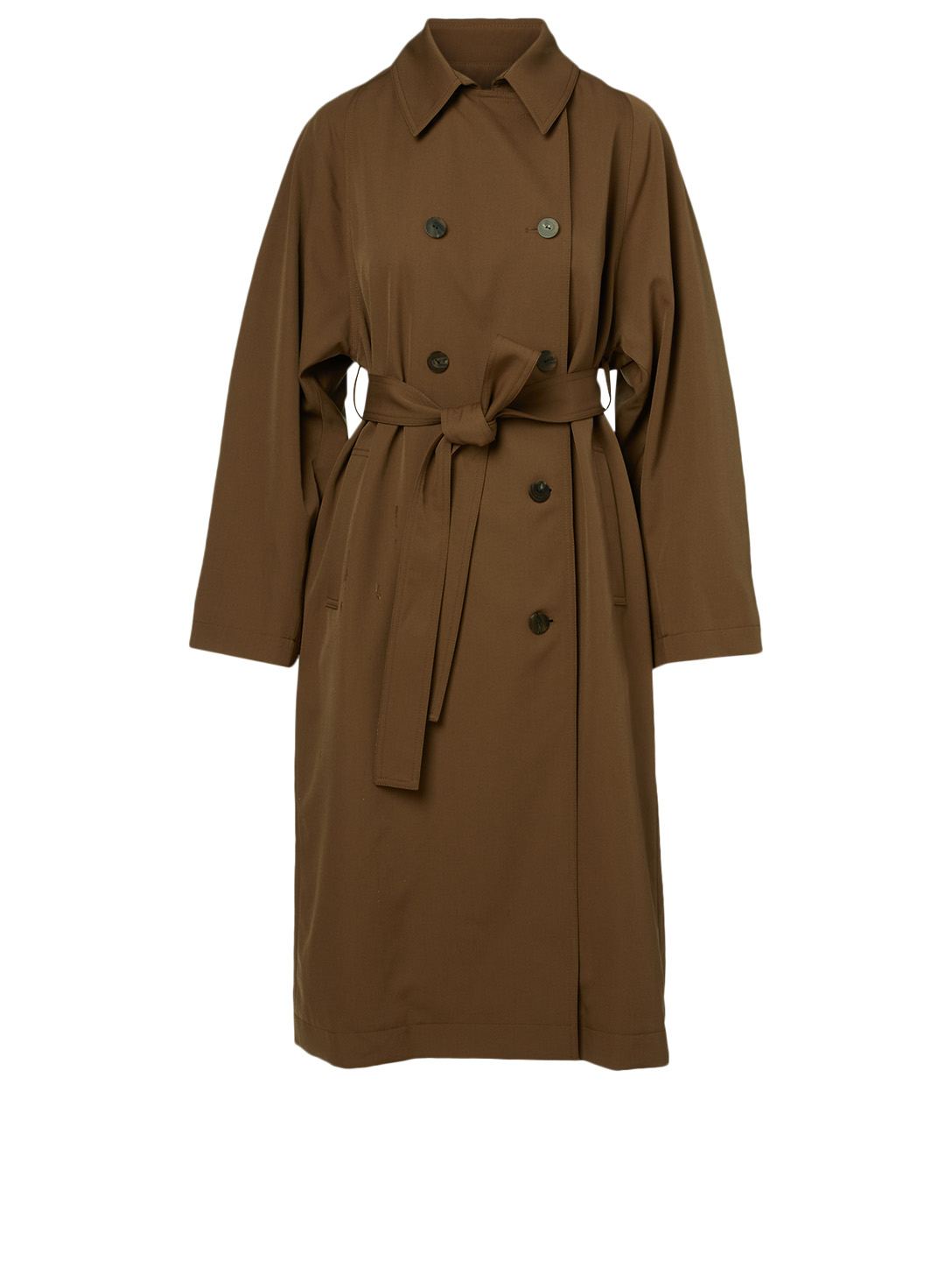 KUHO Wool-Blend Double-Breasted Coat Women's Neutral