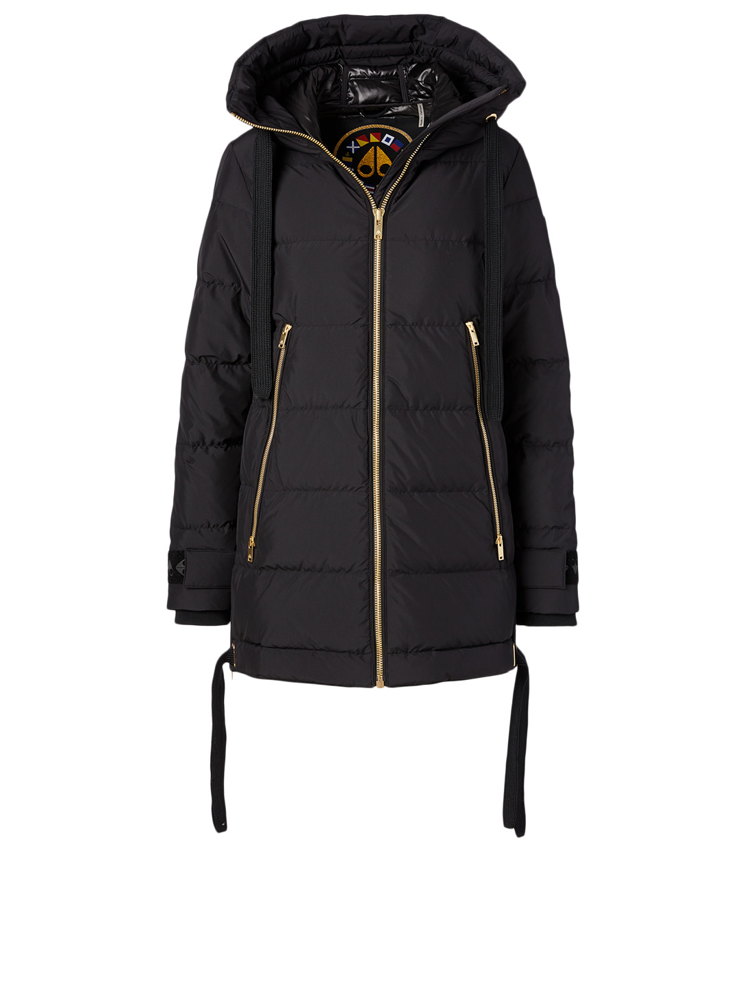 MOOSE KNUCKLES Val Marie Down Jacket Women's Black