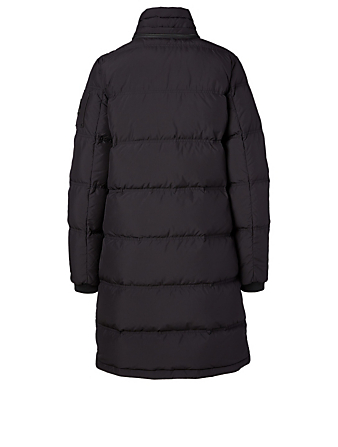 MOOSE KNUCKLES Rush Lake Down Parka With Fur Hood Women's Black