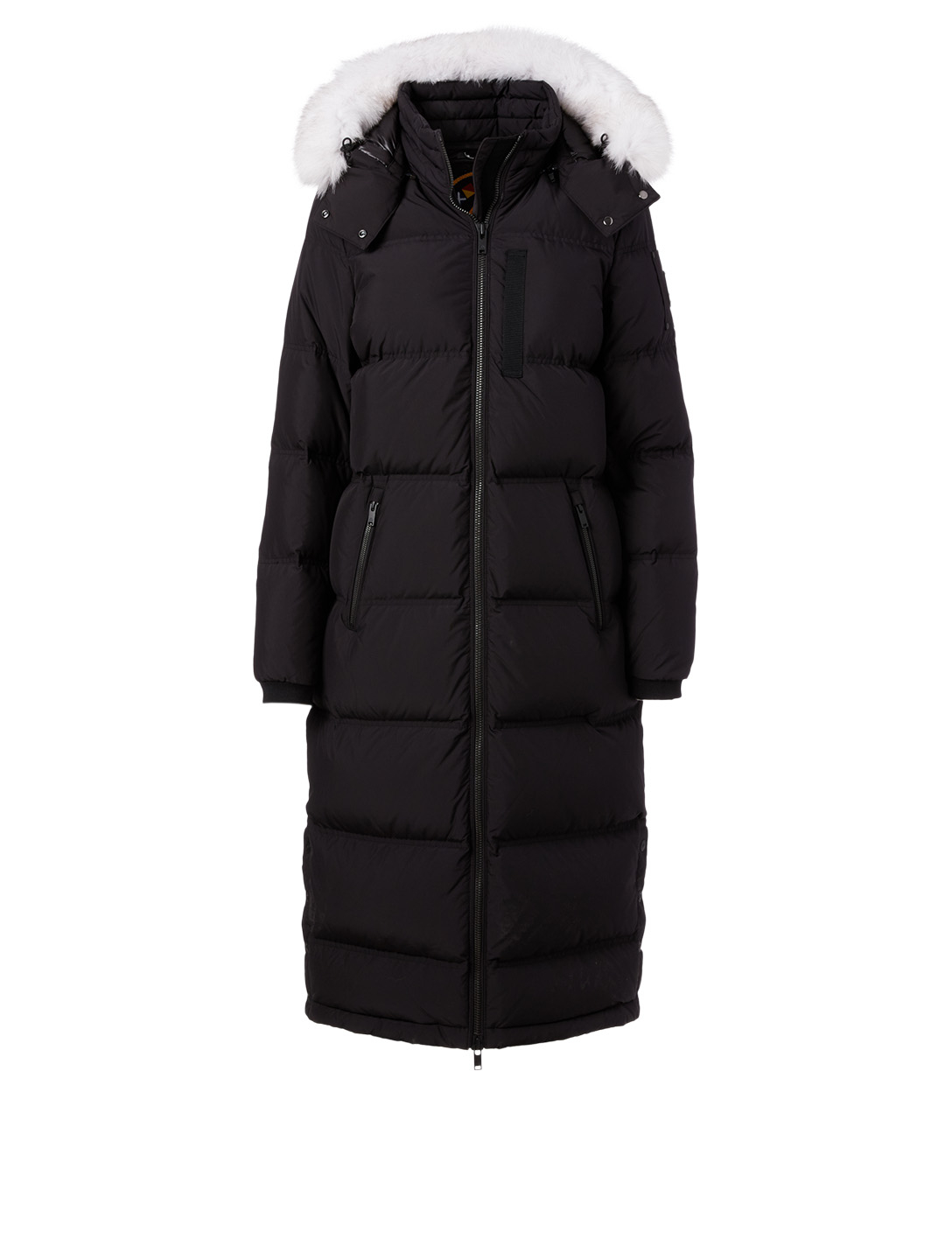MOOSE KNUCKLES Fox Valley Down Parka With Fur Hood Women's Black