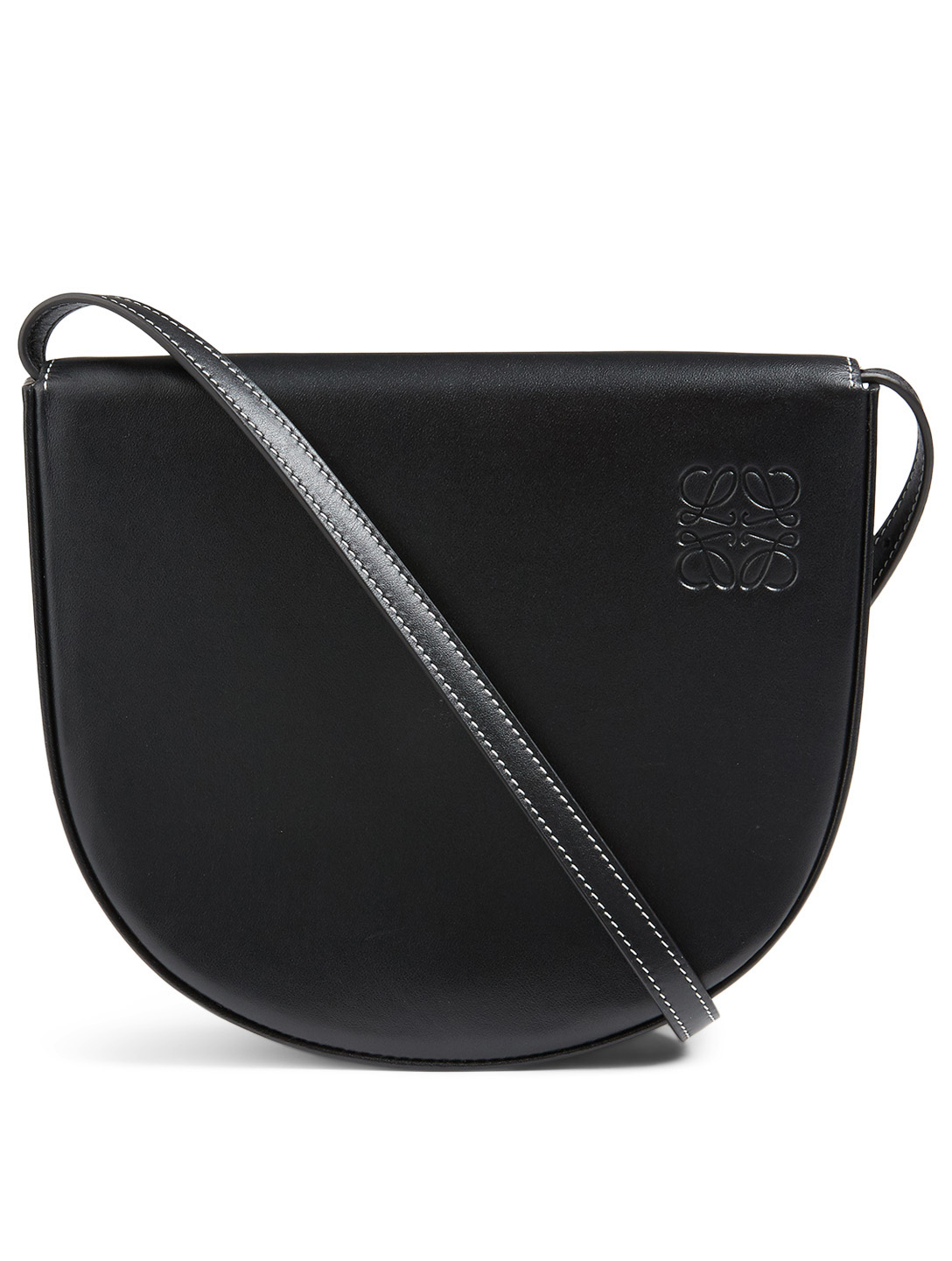 LOEWE Mini Heel Leather Bag Women's Black