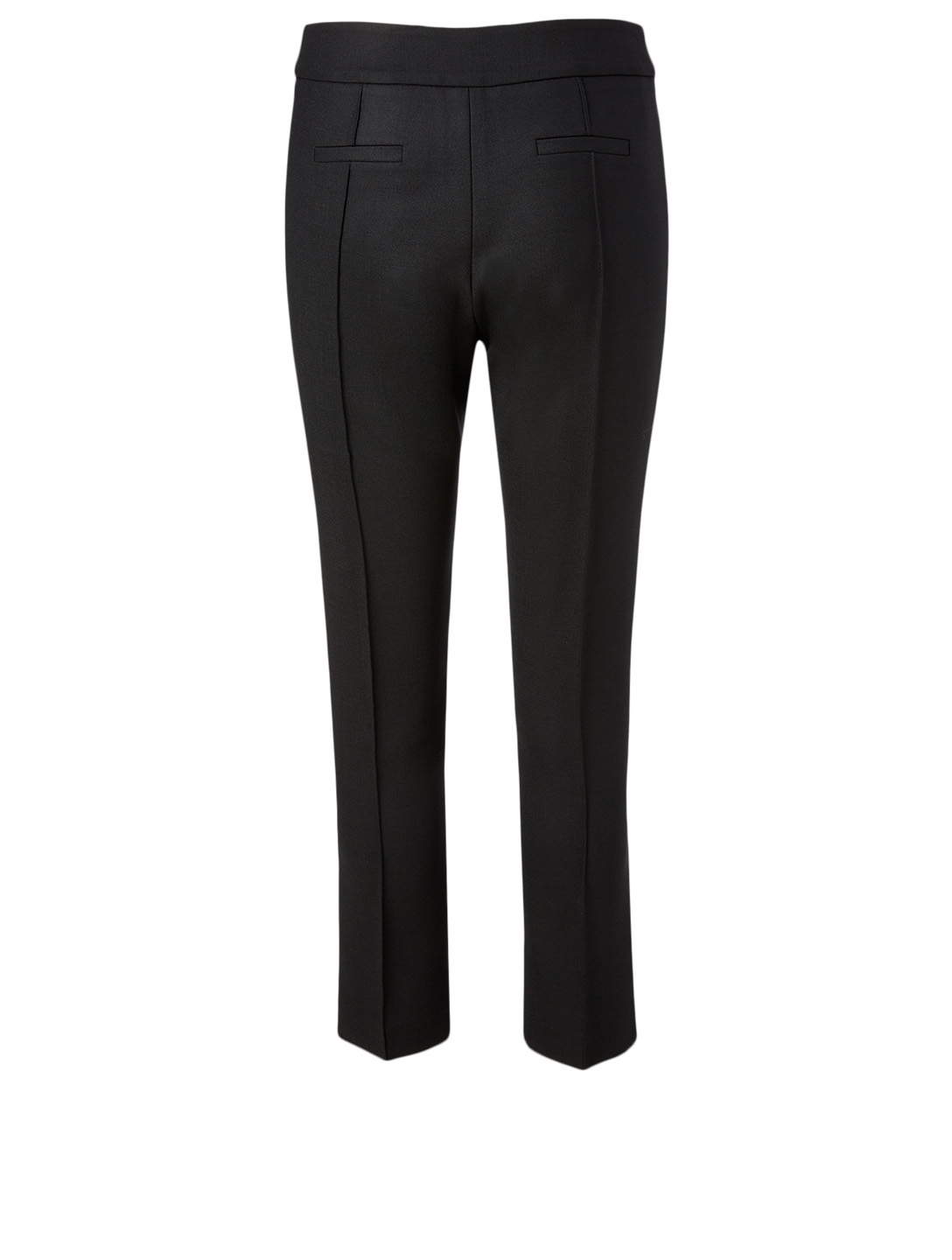 SMYTHE Wool-Blend Stovepipe Pants Women's Black