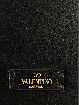 VALENTINO GARAVANI VSling Beaded Silk Bag Women's Black