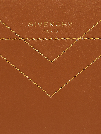 GIVENCHY Small Eden Leather Bag Women's Neutral