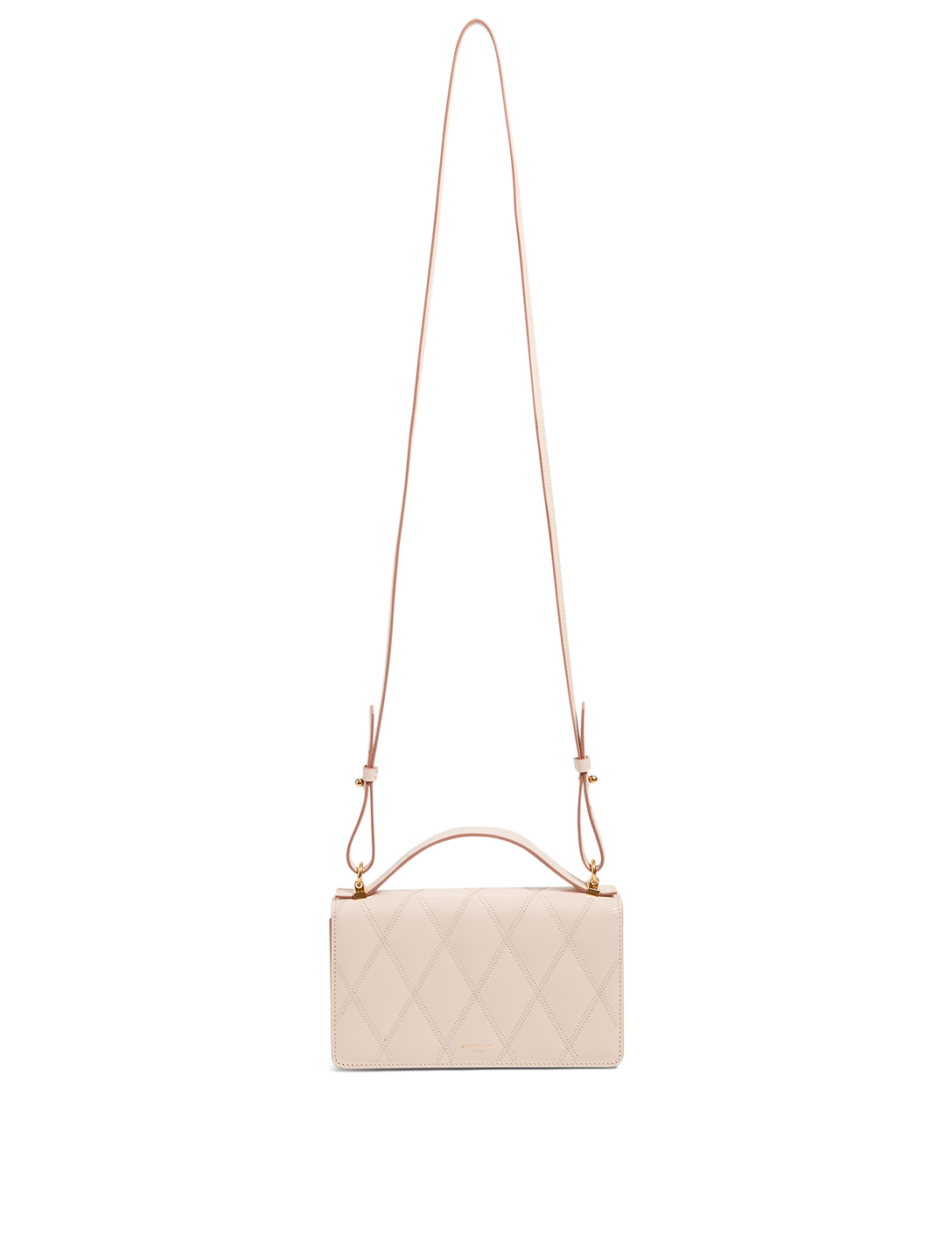 GIVENCHY GV3 Leather Mini Bag Women's Pink