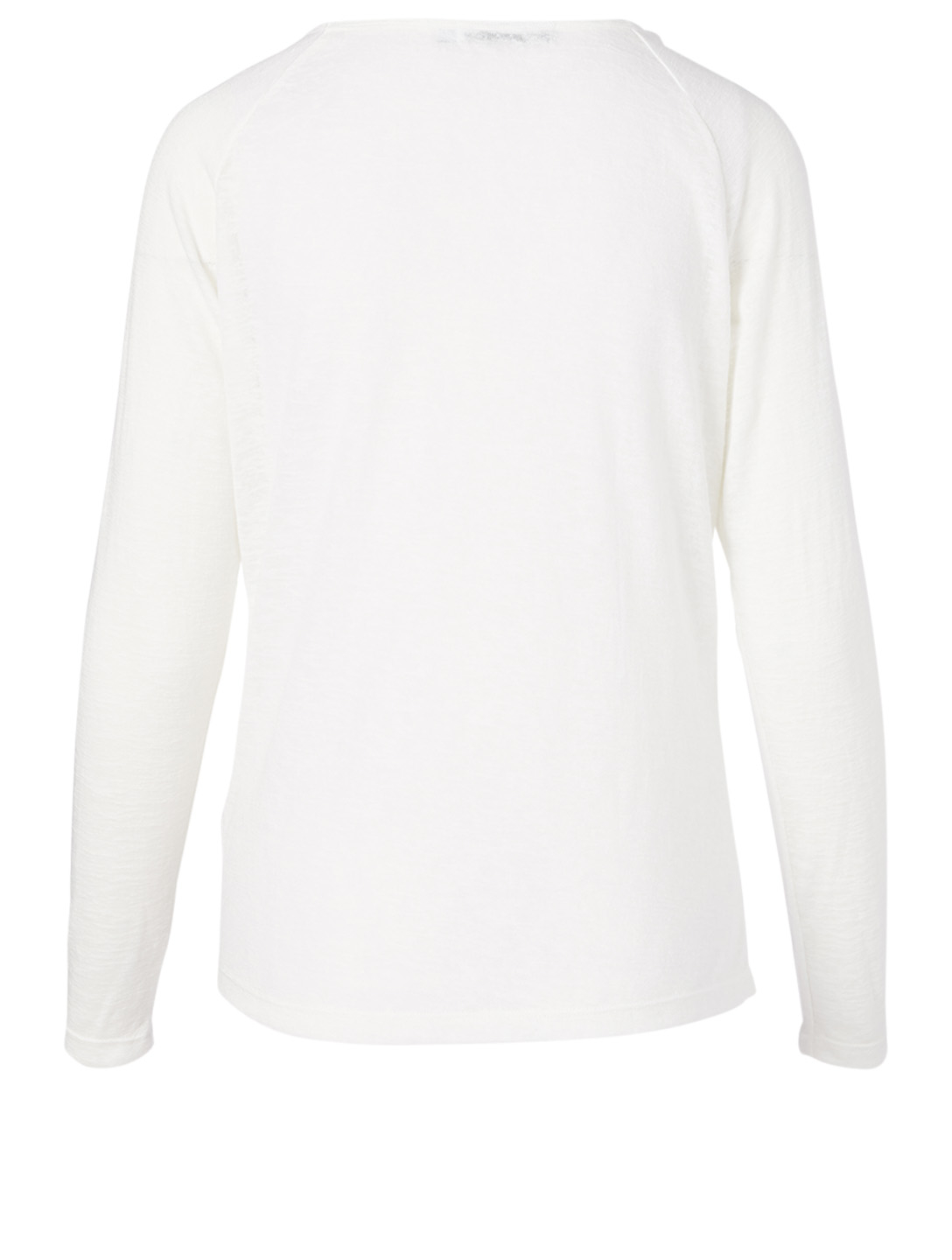 ALL FENIX Haven Long-Sleeve Top Women's White