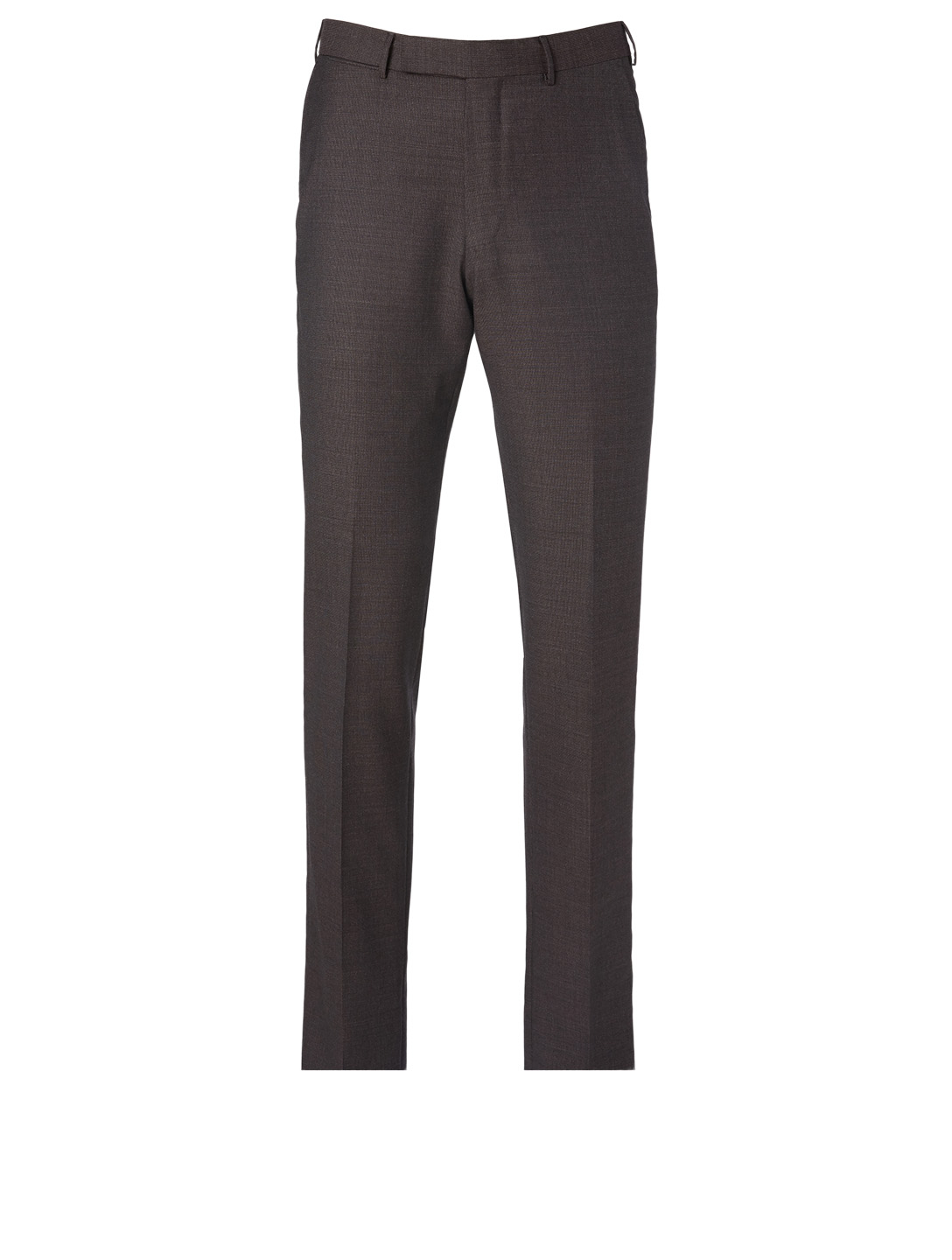 ERMENEGILDO ZEGNA Wool Pants Men's Purple