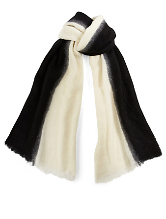 DESTIN Melisabi Wool-Blend Scarf Women's Black