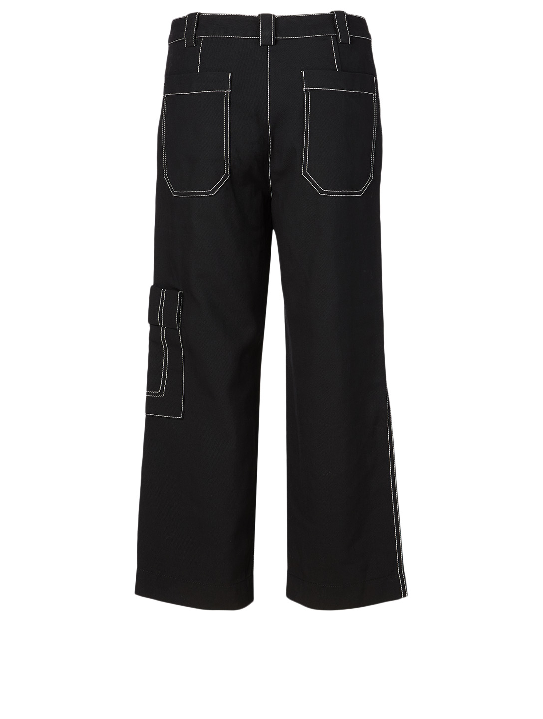3.1 PHILLIP LIM Cotton And Wool Cargo Pants Women's Black