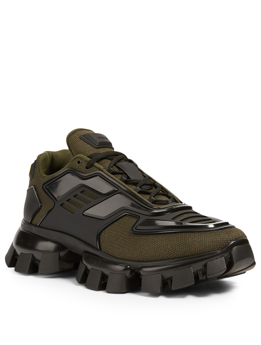PRADA Cloudbust Thunder Knit Sneakers Men's Green