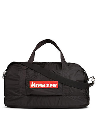 MONCLER Nivelle Nylon Duffle Bag Men's Black