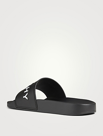 GIVENCHY Logo Slide Sandals Women's Black