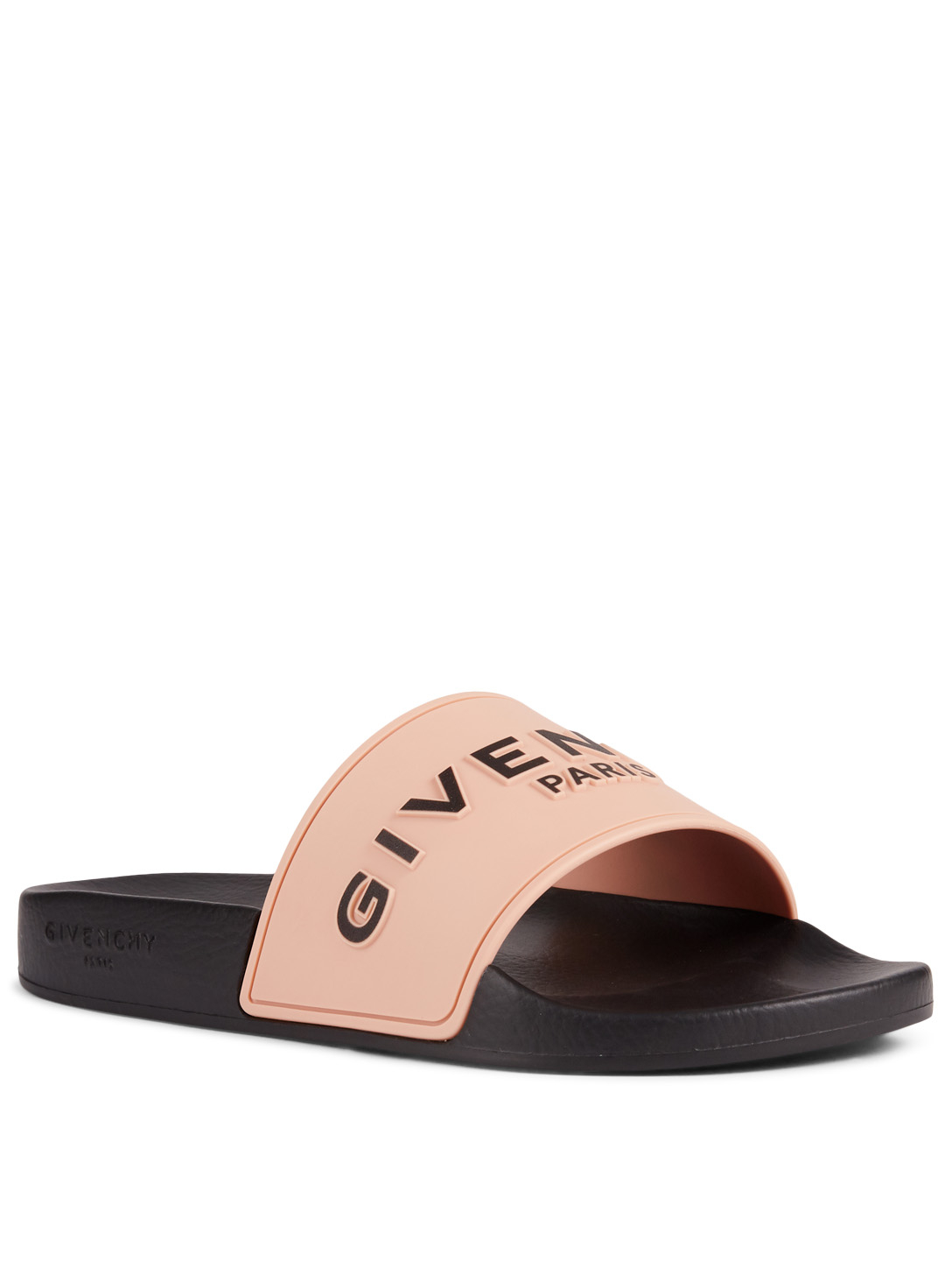 GIVENCHY Logo Slide Sandals Women's Pink