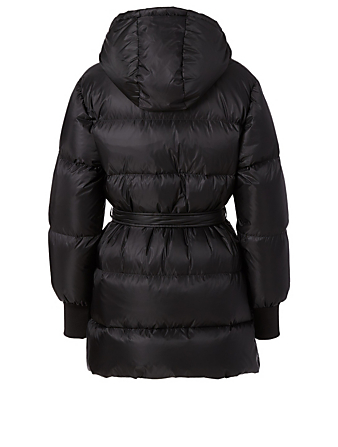 KENZO Belted Puffer Jacket Women's Black