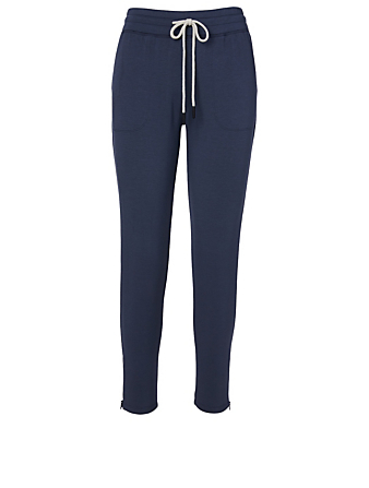BEYOND YOGA Pantalon molletonné mi-long By Request Femmes Bleu