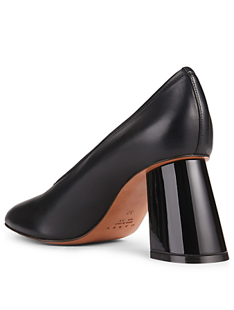 MARNI Leather Pumps Women's Black