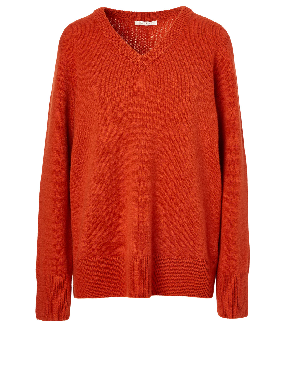 THE ROW Elaine Wool And Cashmere Top Women's Orange