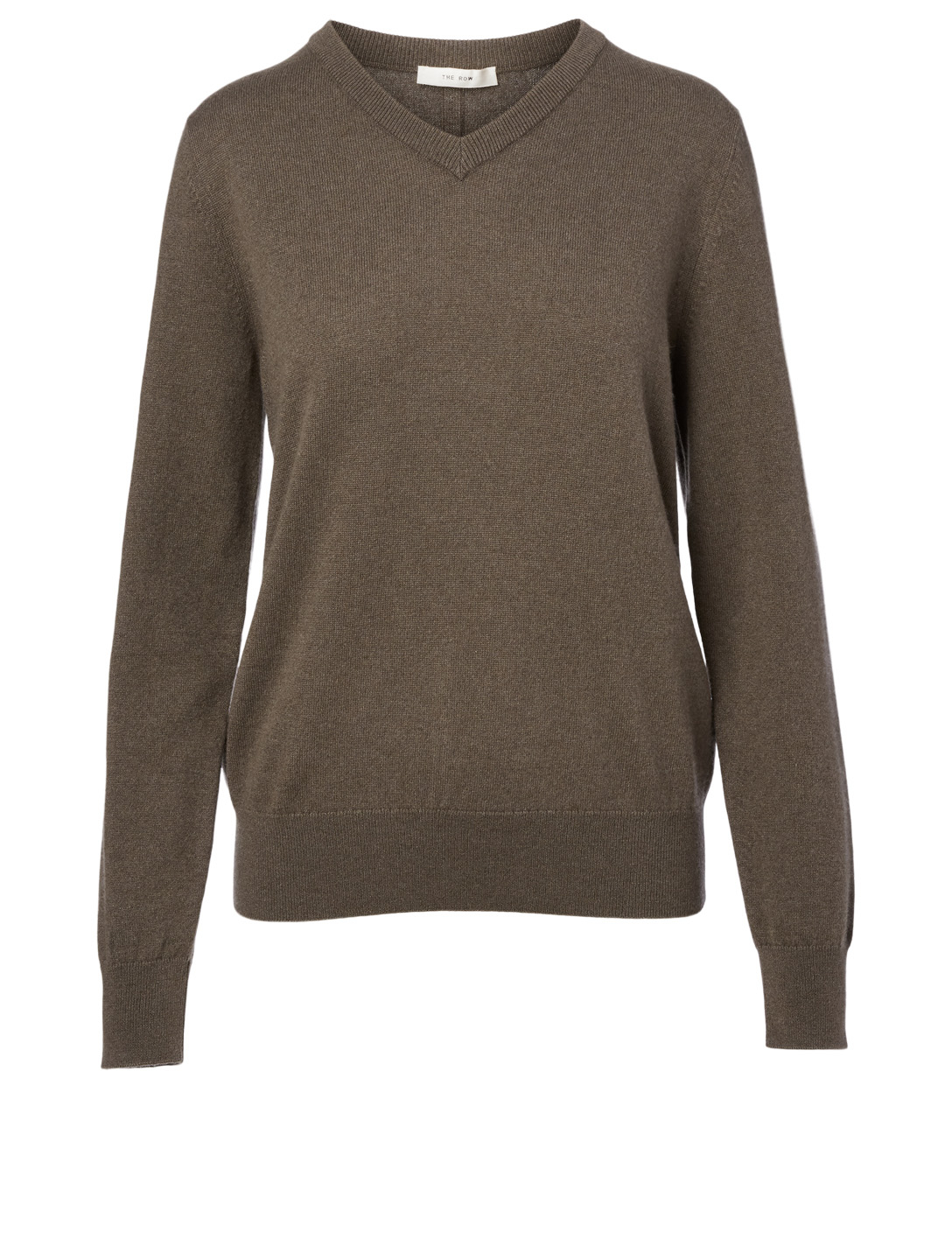 THE ROW Maley Cashmere Sweater Women's Grey