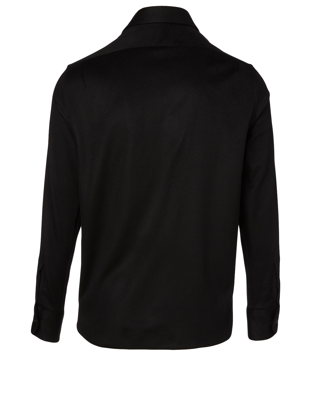 THE ROW Robin Cashmere Shirt Men's Black