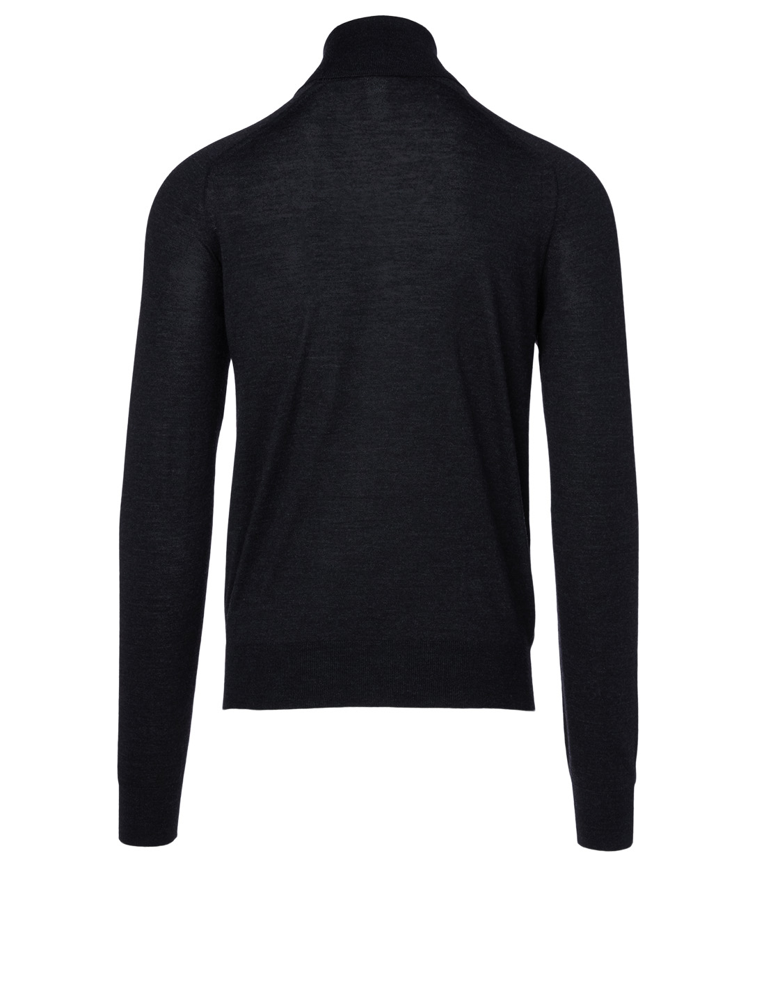THE ROW Ronald Wool Turtleneck Sweater Men's Black