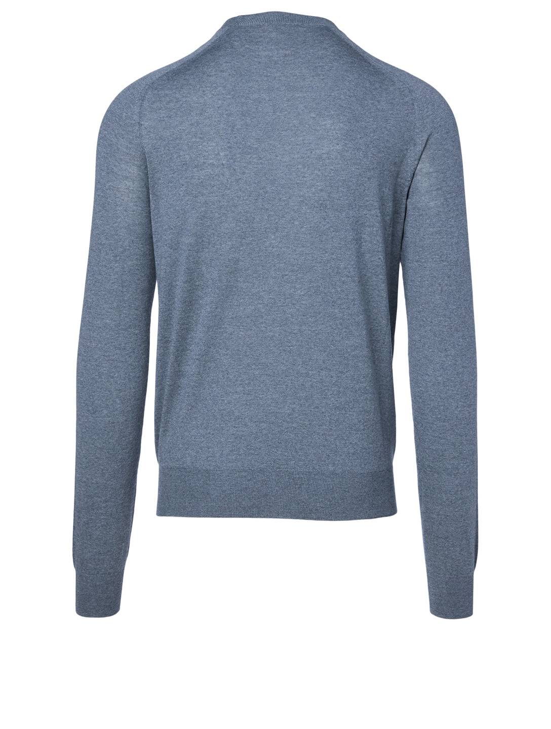 THE ROW Scott Wool Crewneck Sweater Men's Grey