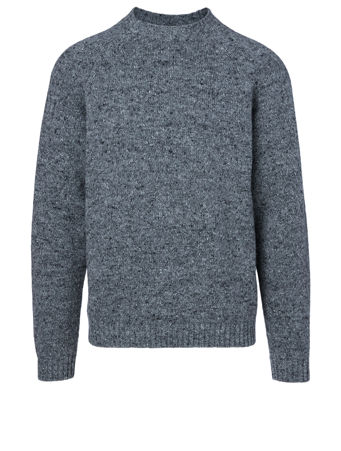 THE ROW Ezra Camel Hair Sweater Men's Grey