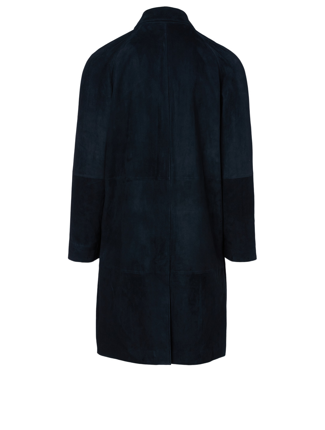 THE ROW Parker Suede Coat Men's Black