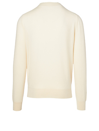 THE ROW Benji Cashmere Crewneck Sweater Men's Neutral