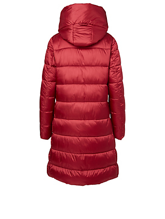 SAVE THE DUCK Iris Vegan Hooded Puffer Coat H Project Red